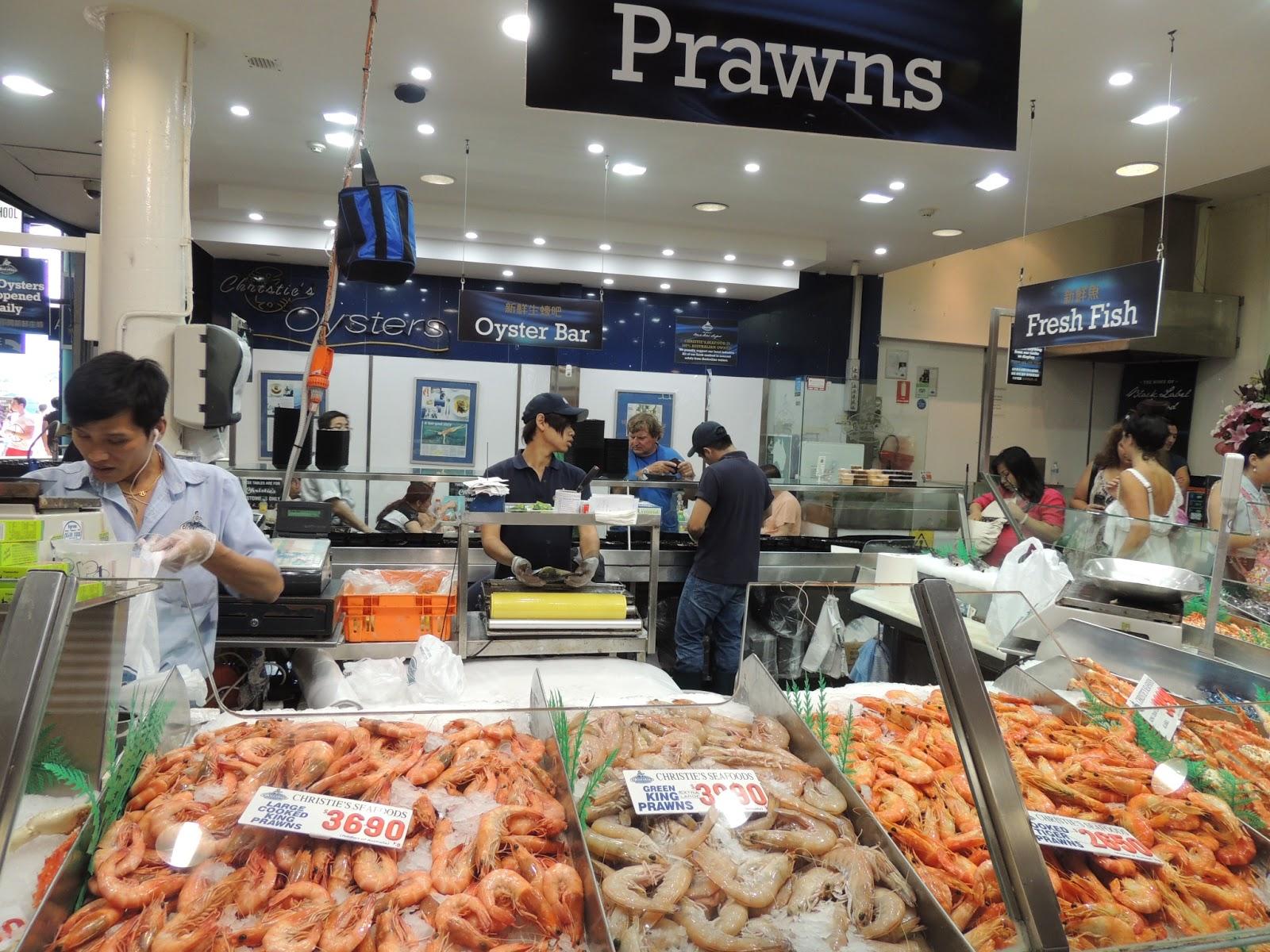 Dancing queen sydney fish market for Fish market queens