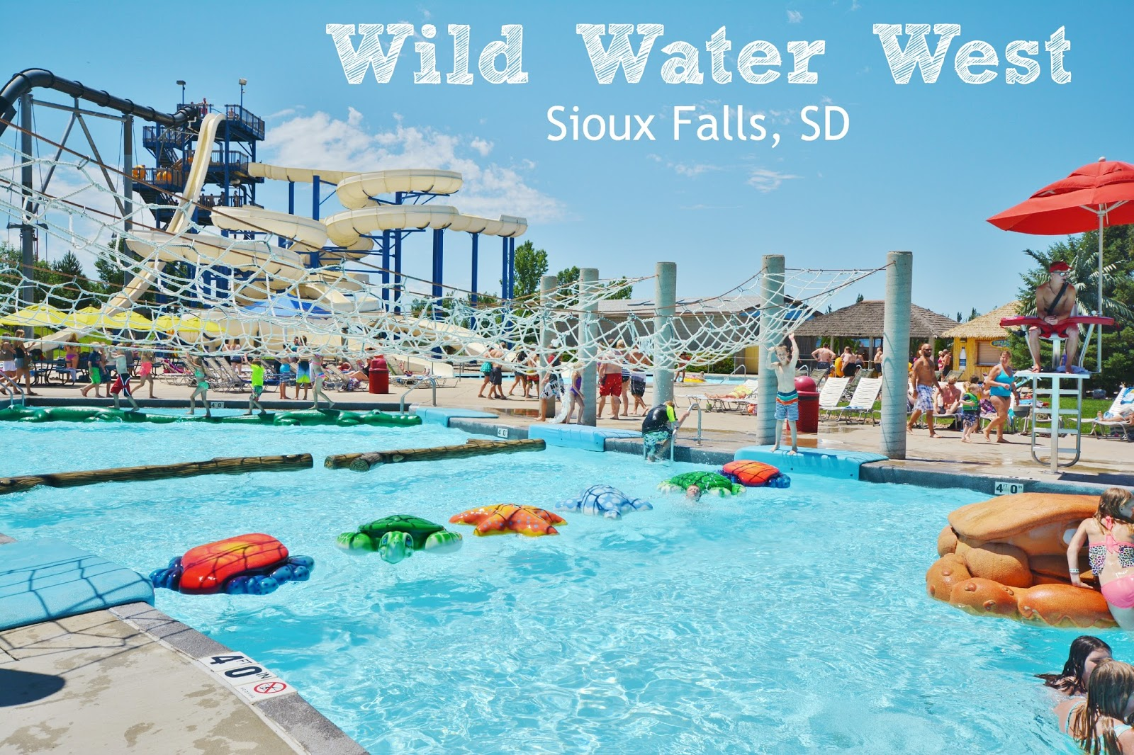 South Dakota's largest waterpark, Wild Water West is a must do #attraction in Sioux Falls! #70dayroadtrip #travel