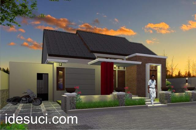 Desain rumah type 70 1 lantai
