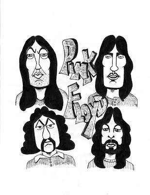 Desenho do Pink Floyd