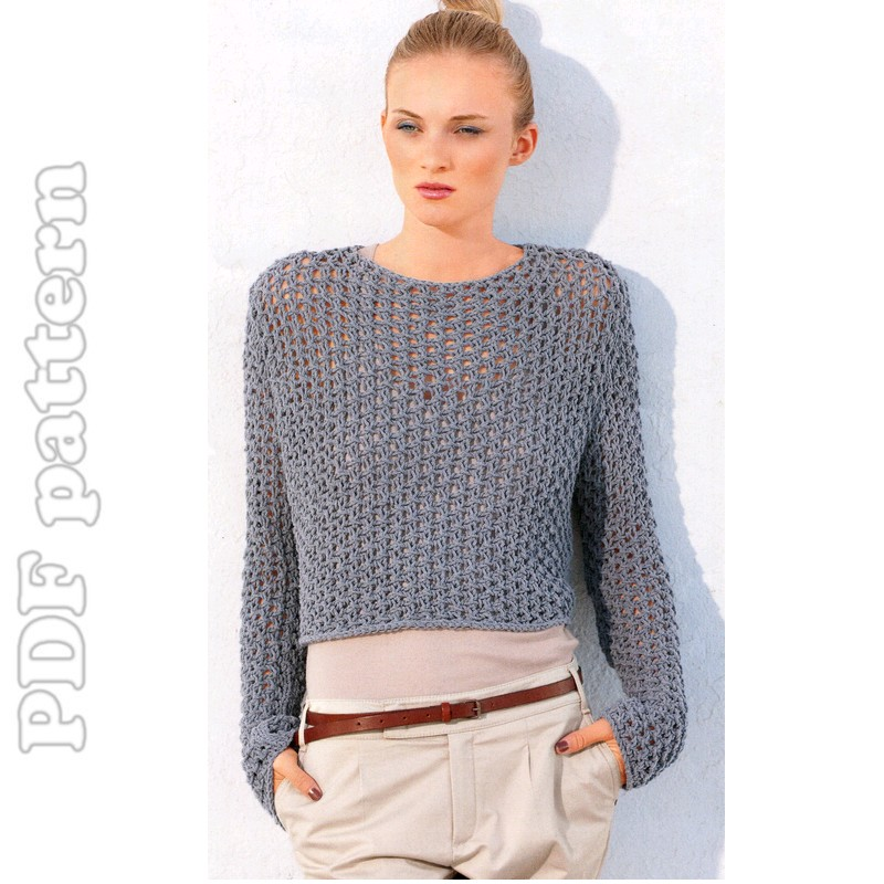 Sweater Knitting Patterns : Simple Knit Sweater Pattern Sweater knitting pattern