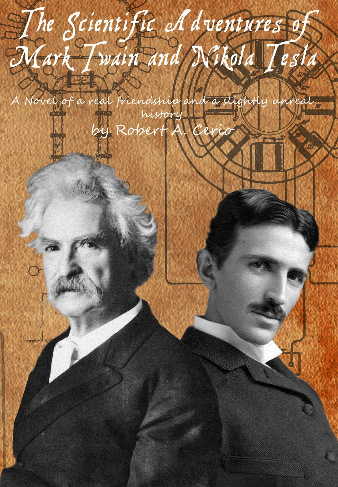 NEW! Collection of Rob's Popular Twain and Tesla stories!