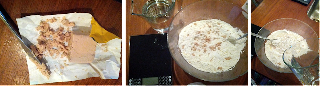 Pizza dough, fresh yeast, pizza at home, homemade pizza