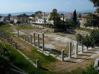 Agorà nella Grecia antica era la piazza principale sede del mercato e luogo di riunione dei cittadini