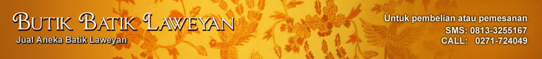 Butik Batik Laweyan, Jual Batik Murah