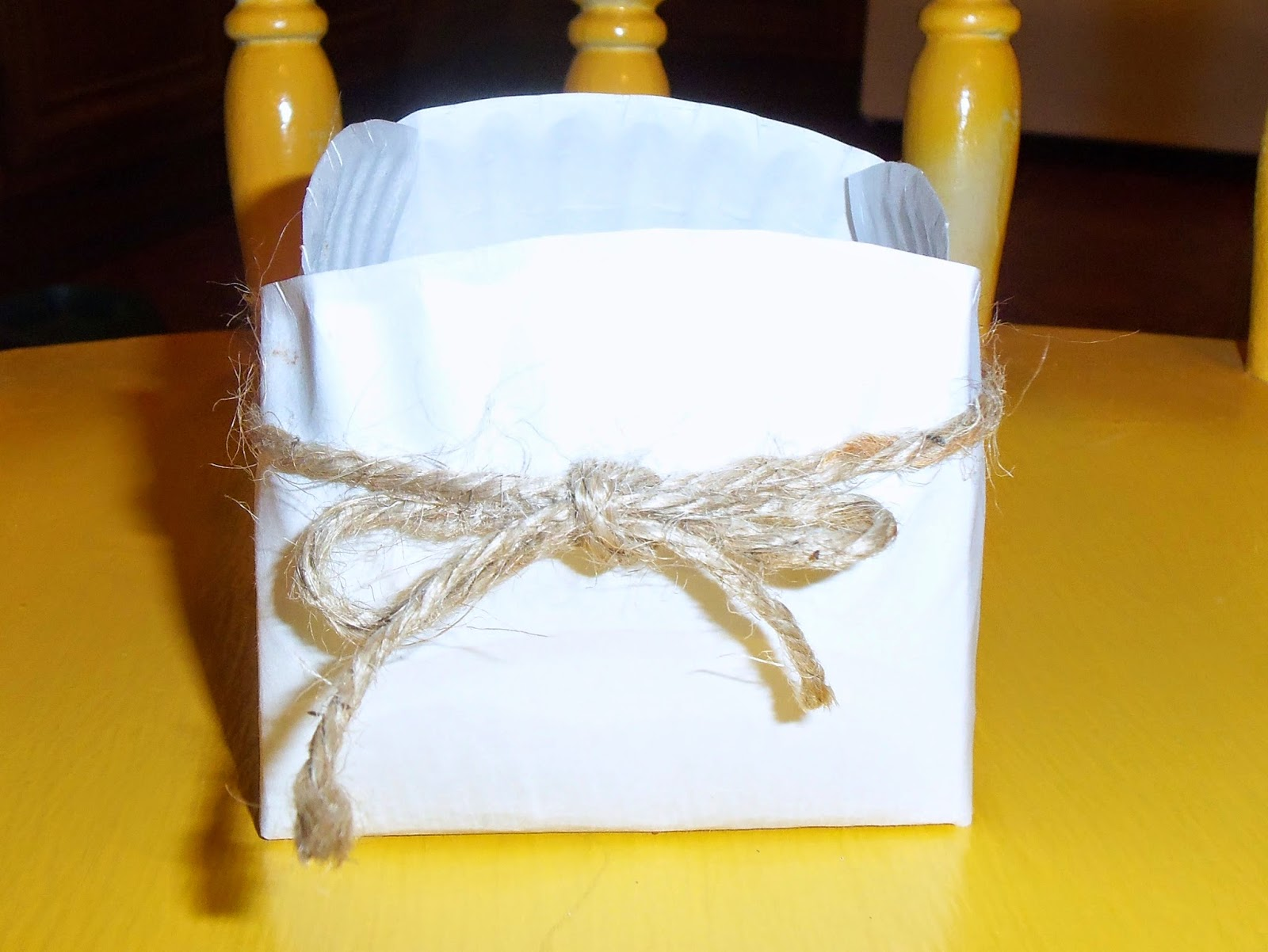 live. love. scrap.: Gift Basket Made From Paper Plate