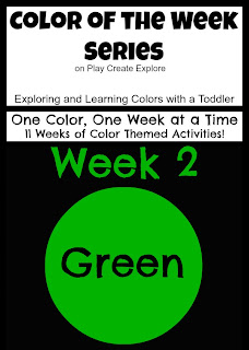 Color of the Week Series on Play Create Explore