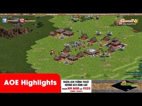 AOE Highlights - Vượt khó tuyệt vời của hai ông già Tiểu Bạch Long...