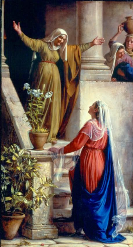 MAY 31 - Visitation of the Blessed Virgin Mary to Elizabeth