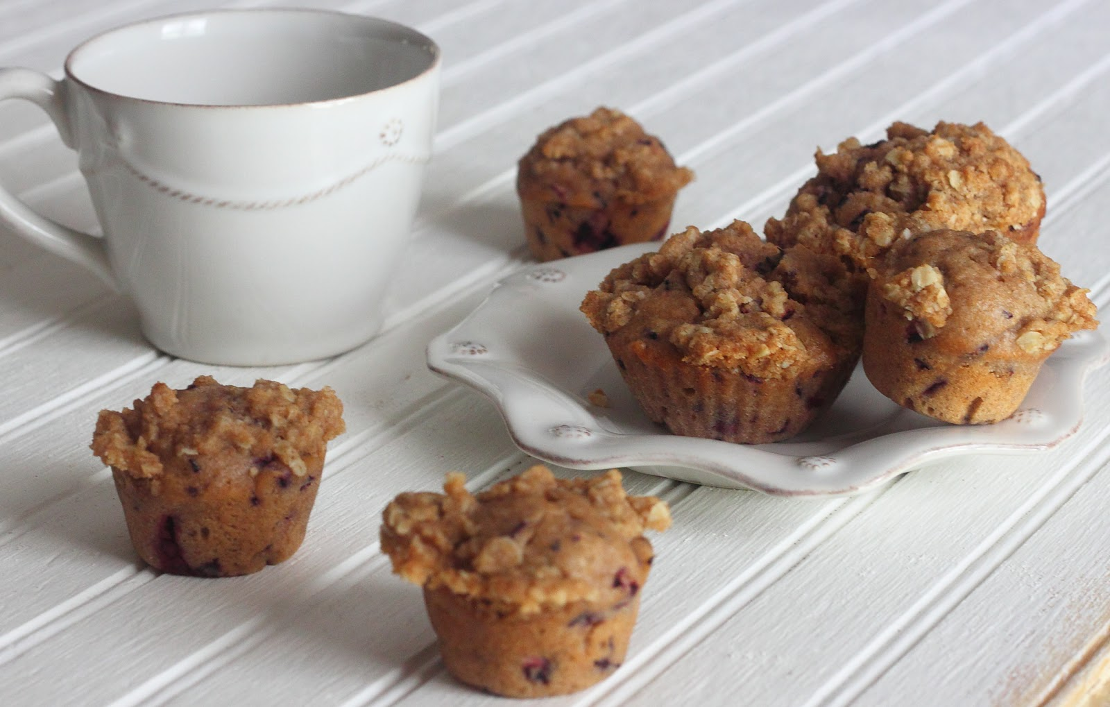 ... Kitchen: Whole Wheat Blueberry Muffins with Oat Streusel Crumb Topping