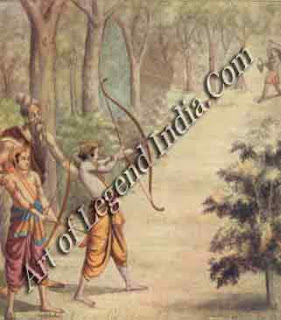 Lord Rama Prepaid for attacked