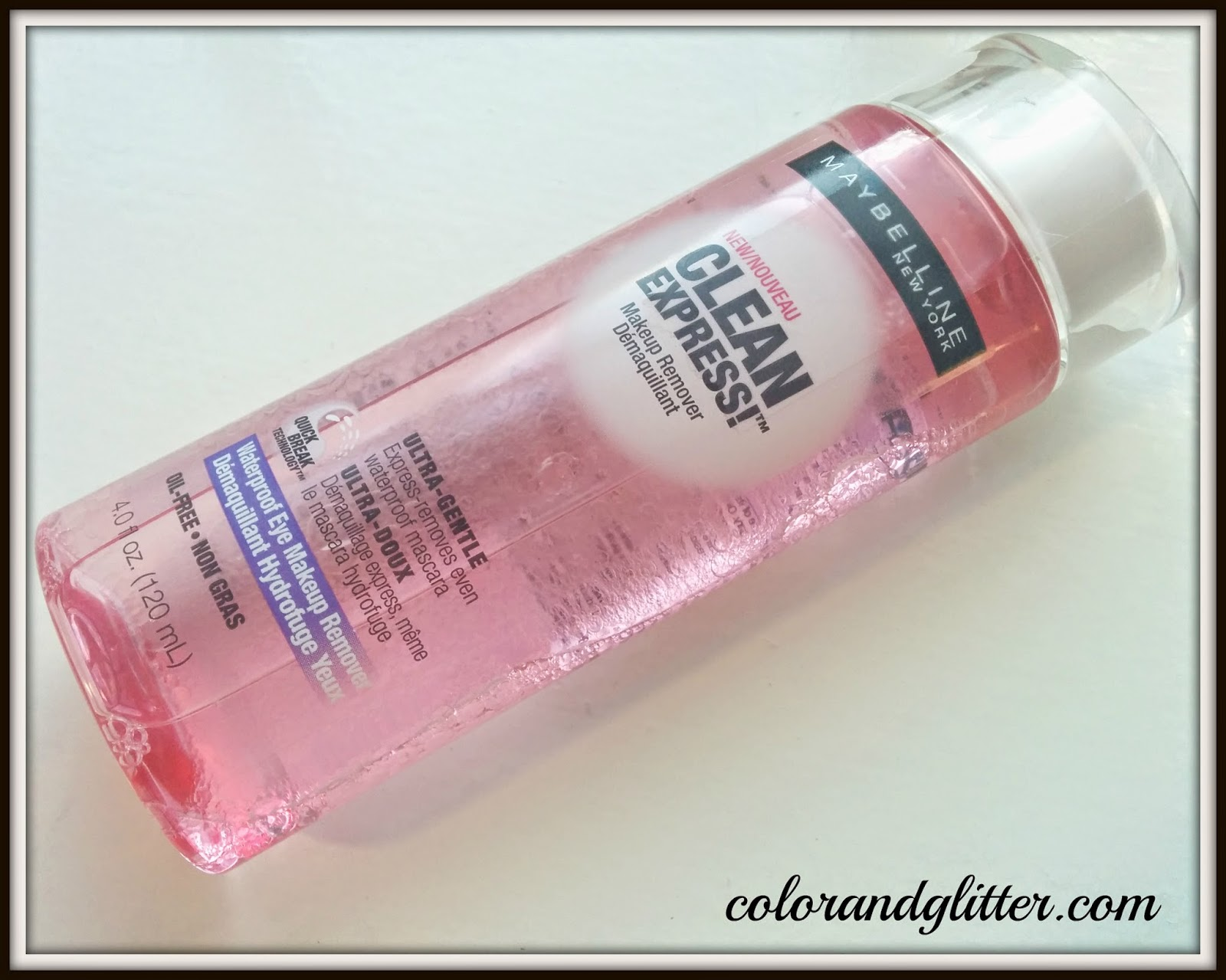 Maybelline waterproof eye makeup remover