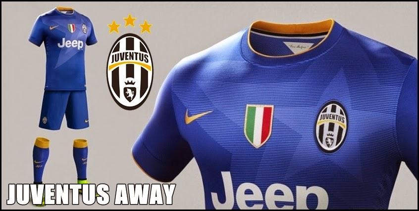 Juventus Away 2014-15