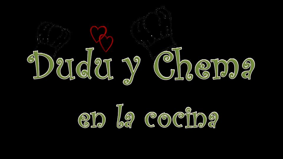 Dudu y Chema en la cocina