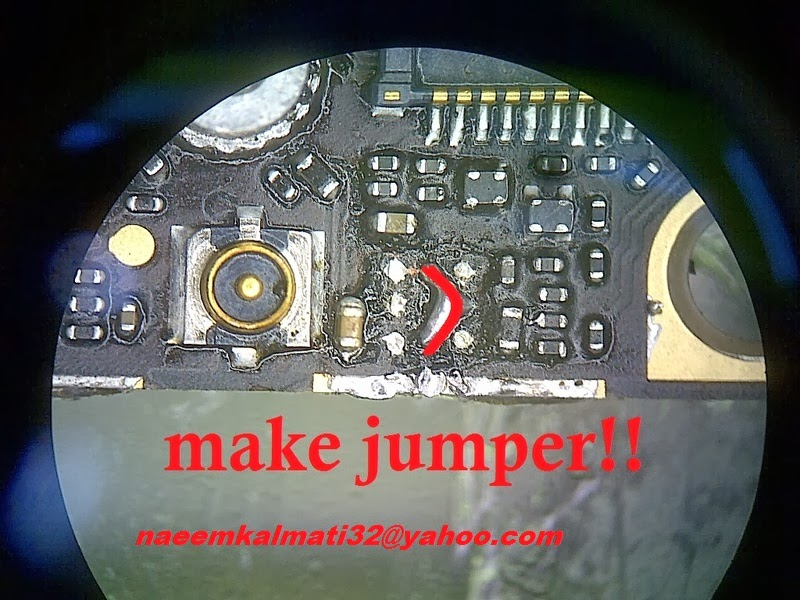 NaeemBaloch: iphone 5 charging ic jumper