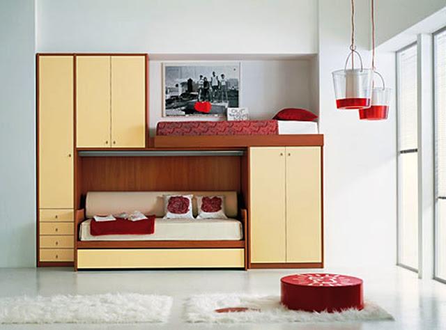 дизайн маленькой комнаты для двух подростков фото