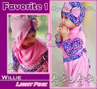 winka series mode willie warna light pink