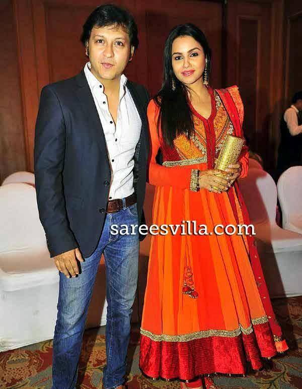 Arjun Punj with wife Gurdeep Kohli