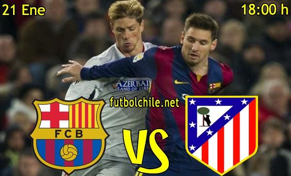 Barcelona vs Atletico de Madrid - Copa del Rey - 18:00 h - 21/01/2015