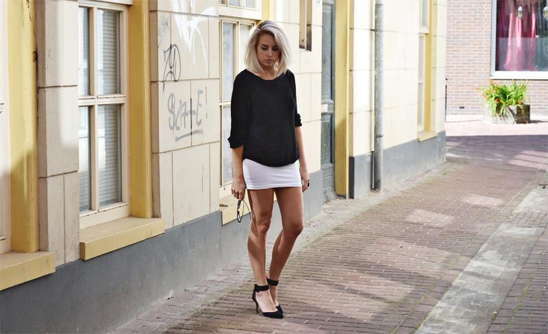 Virtual Fashion View OUTFIT | WHITE SKIRT