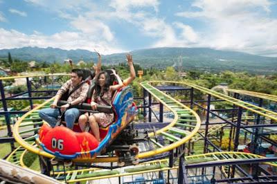 Wahana adrenalin di Jatim Park