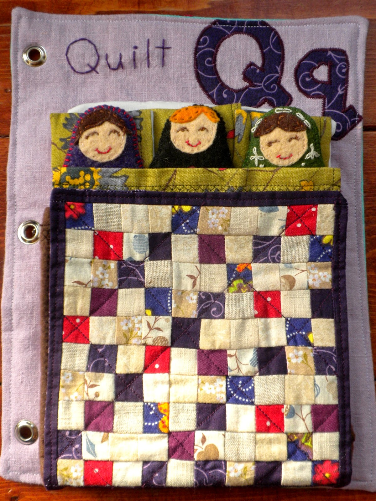 Q Is For Quilt The Adventures of Six ...