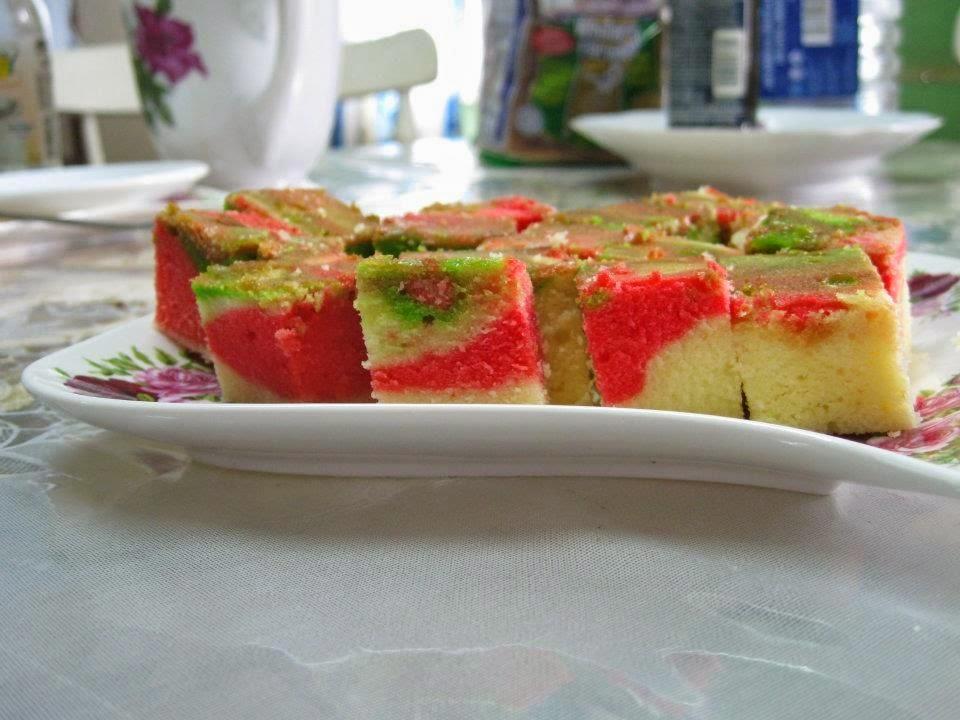 kek marble aidil adha