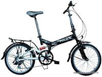 Sepeda Lipat FoldX Tokyo Suspension 20 Inci