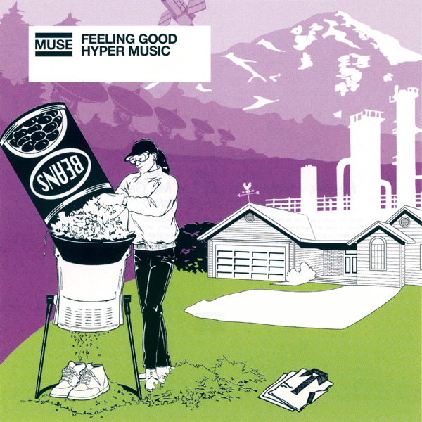 Muse - Feeling Good / Hyper Music - EP Cover