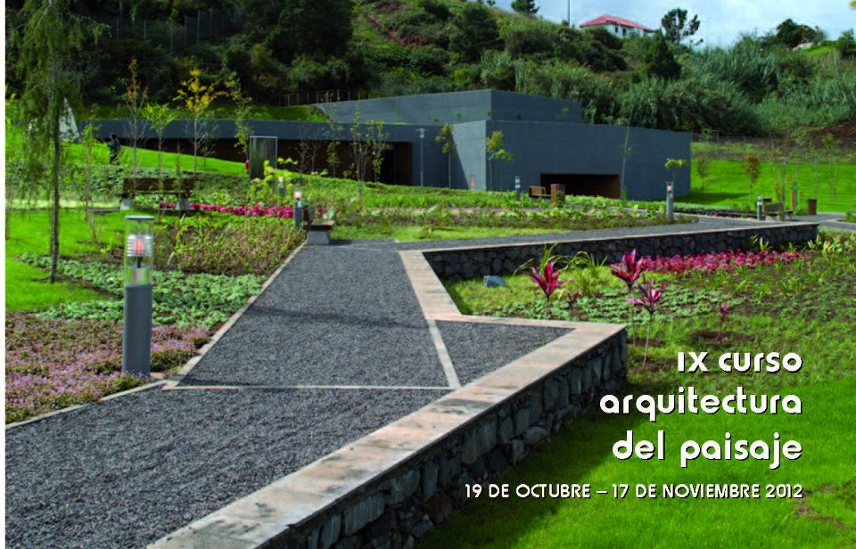 Bak 9 curso de arquitectura del paisaje for Arquitectura del paisaje