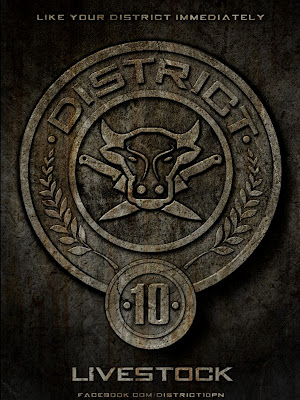 The Hunger Games District 10 Livestock Poster