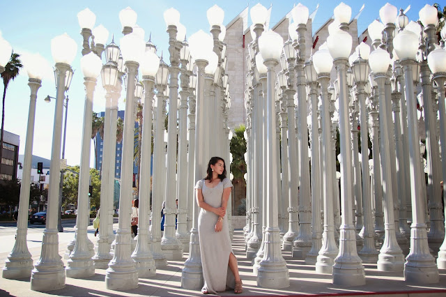 LACMA Los Angeles photoshoot