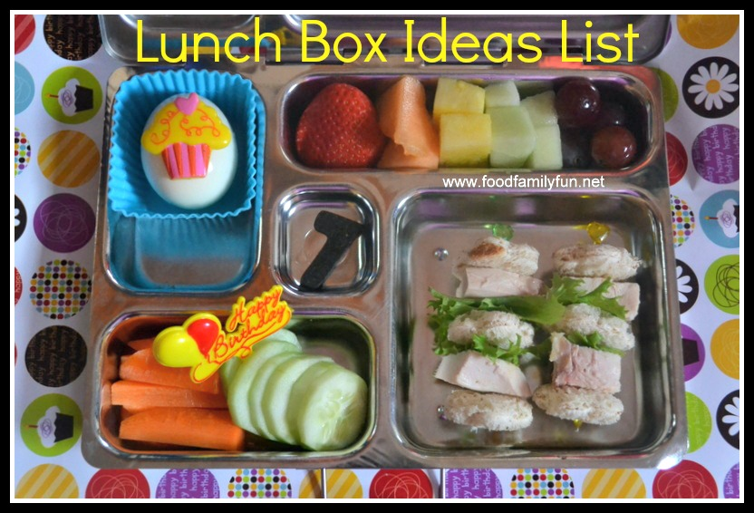 food family fun lunch box ideas list. Black Bedroom Furniture Sets. Home Design Ideas