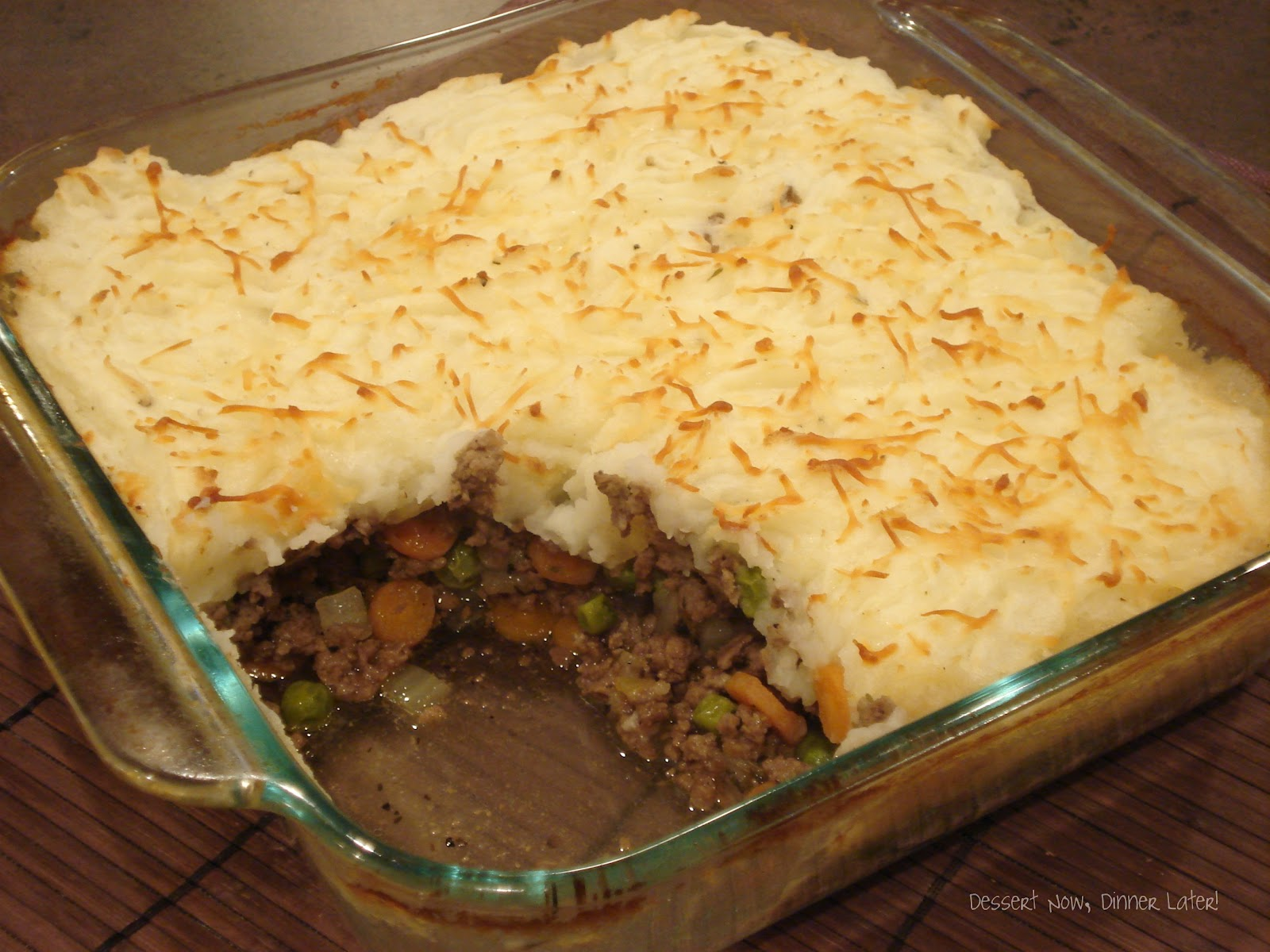 Shepherd's Pie - Dessert Now, Dinner Later!
