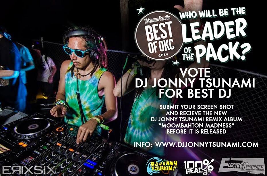 DJ Jonny Tsunami | Gazette Best DJ of OKC 2014 Finalist