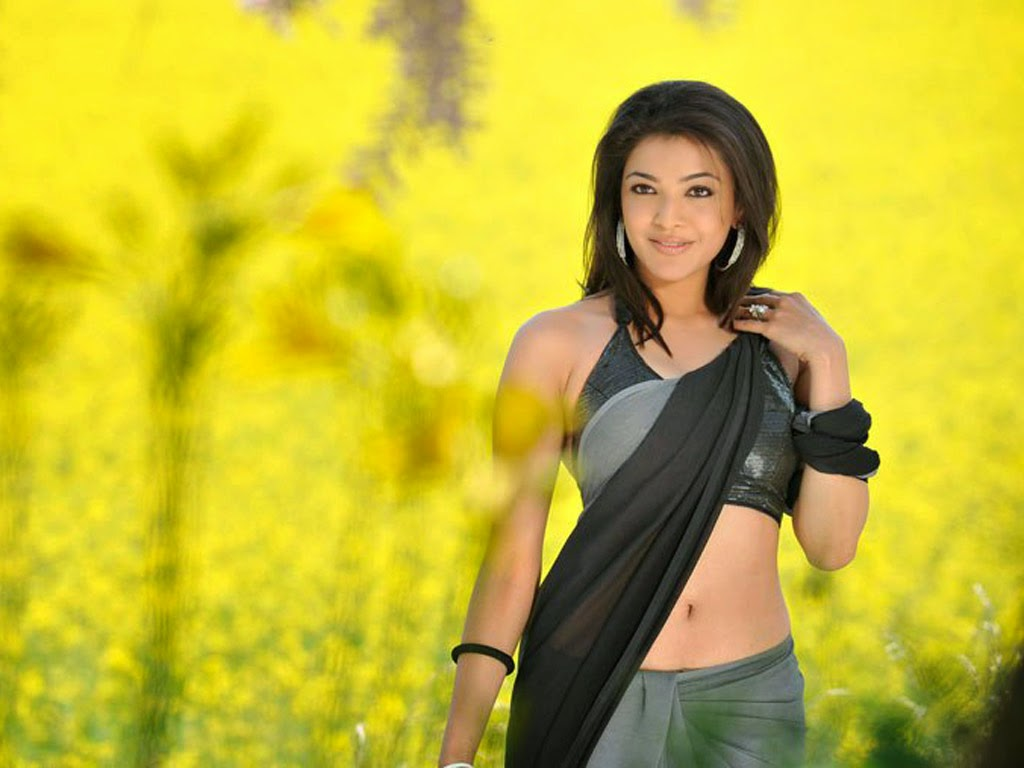 saree wallpapers kajal agarwal - photo #1