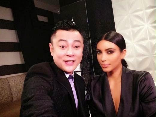 Pak Nil dikritik atas temu bualnya dengan Kim Kardashian, info, terkini, hiburan, sensasi, gosip, pak nil