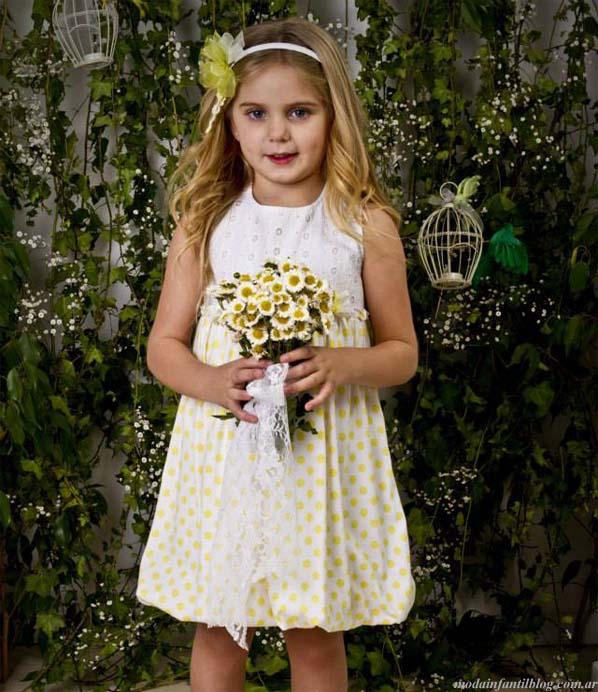 moda verano 2014 vestidos nenas