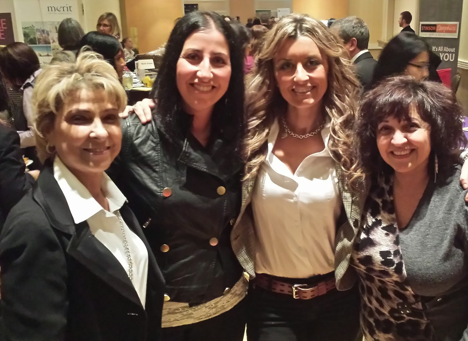 Fun with friends at a Vaughan Chamber of Commerce Event