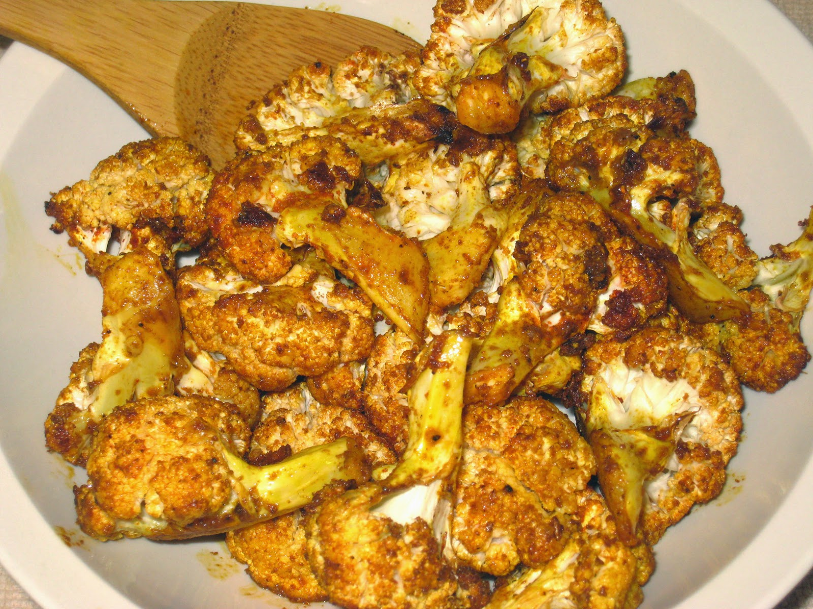 Roasted Cauliflower With Indian Spices (Cumin & Coriander ...