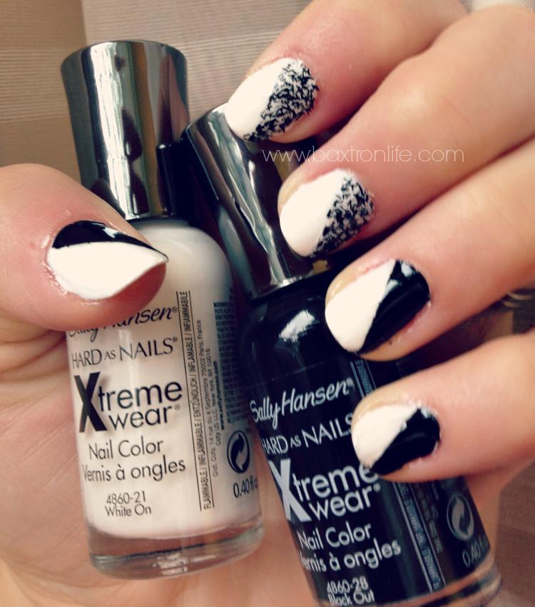 sally hansen xtremewear textured nails #shop