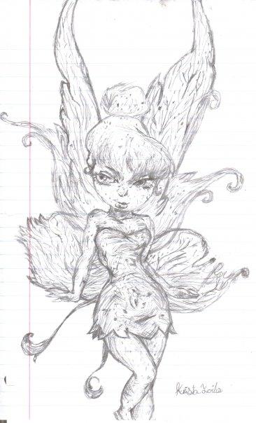 Tinker Bell por Qtfiddler