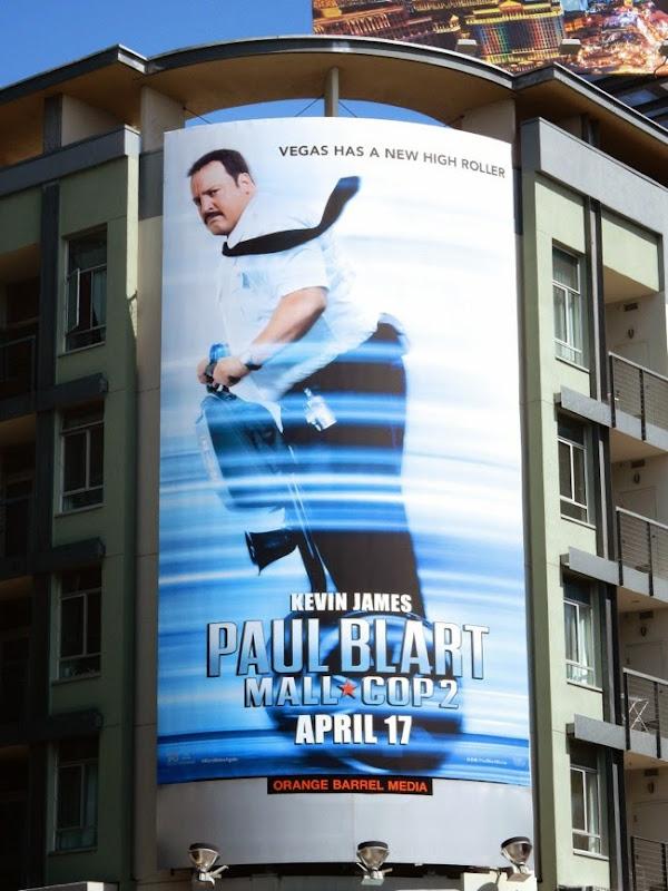 Paul Blart Mall Cop 2 segway billboard