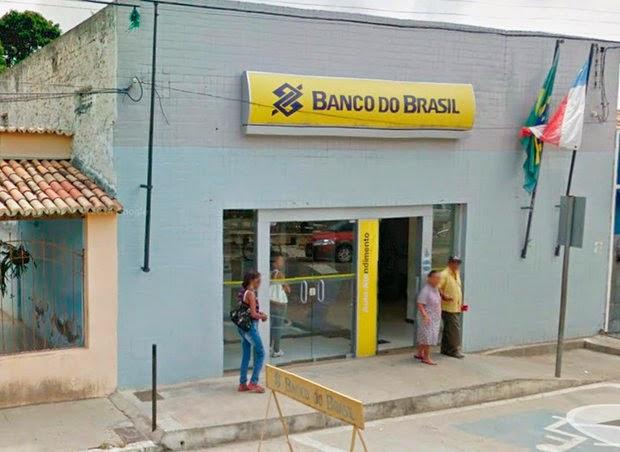 Dinheiro de banco era objetivo dos criminosos (Foto: PortalBahiaNews.com)