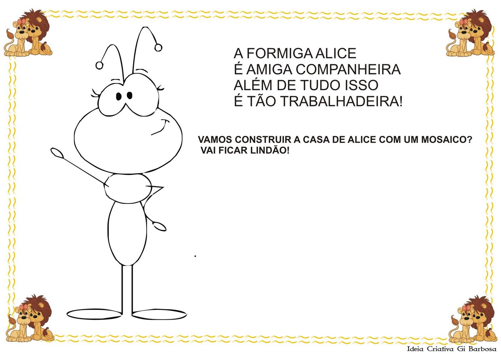 Excepcional Atividades Projeto Animal Maternal | Ideia Criativa - Gi Barbosa  RM08