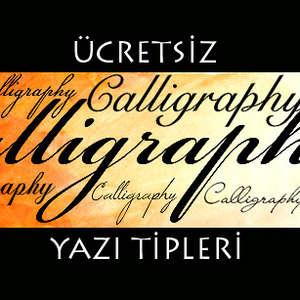 ücretsiz logo yapma yazı stilleri yazi tipleri