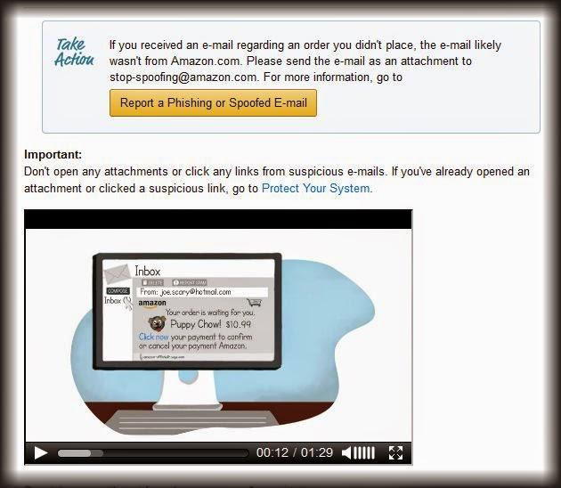 Fake Amazon Order Phishing Scam 866-216-1072
