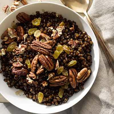 Slow-Cooker Molasses and Spice Wheat Berries