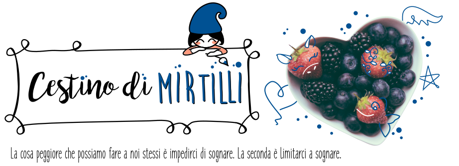 Cestino di mirtilli