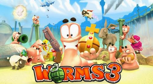 Free Download Worms 3 Android Apk + Data